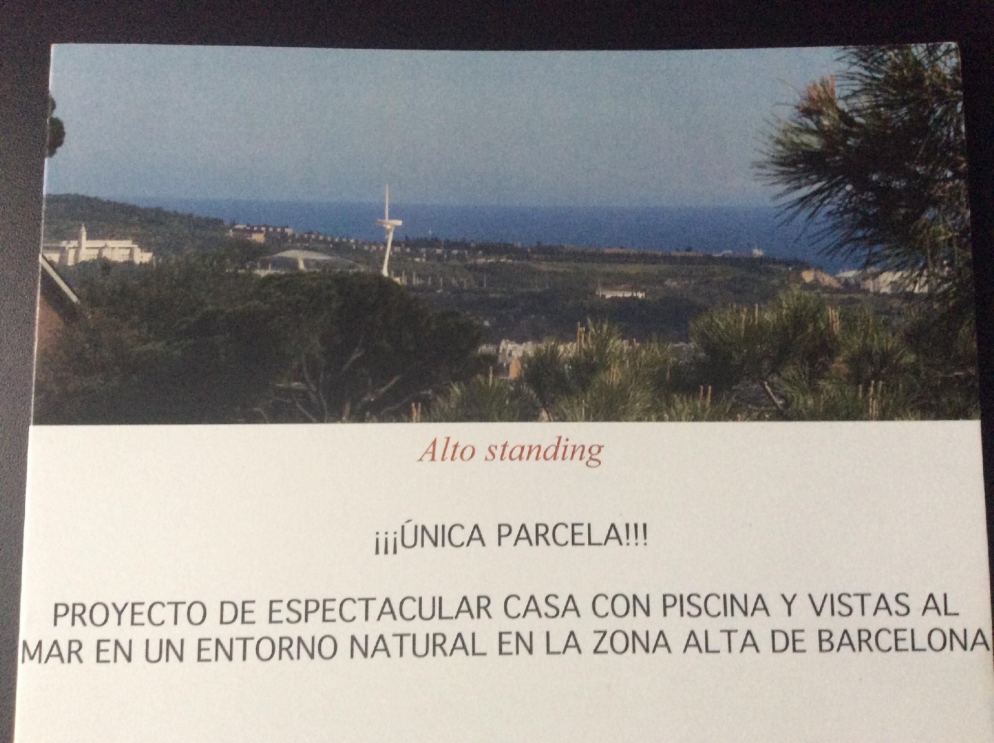 100069 Solar Urbano en venda en Sarrià-Sant Gervasi, Tres Torres 2