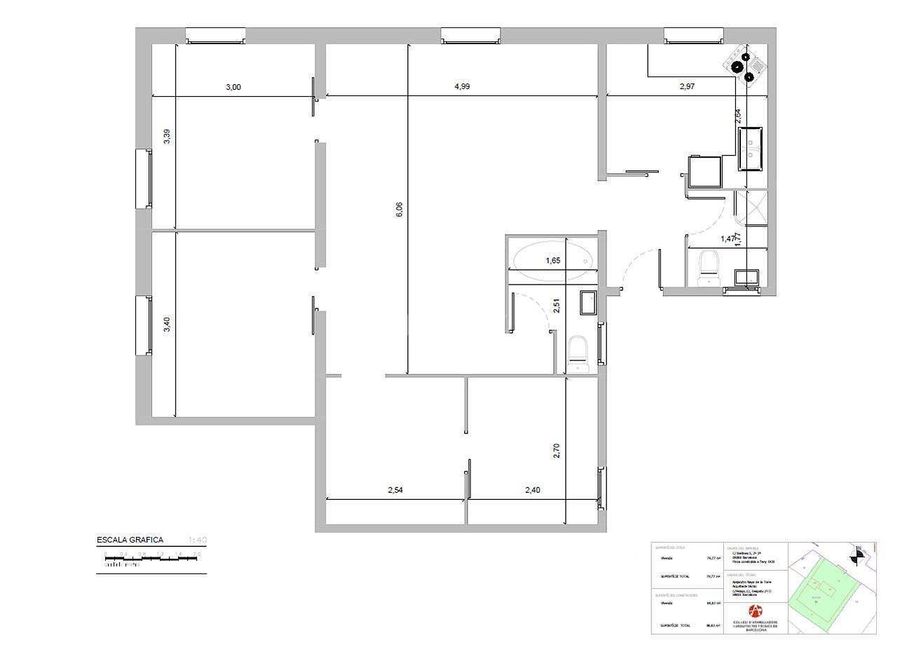 247916 Flat for sale in Sarrià-Sant Gervasi, Sant Gervasi-Galvany 3