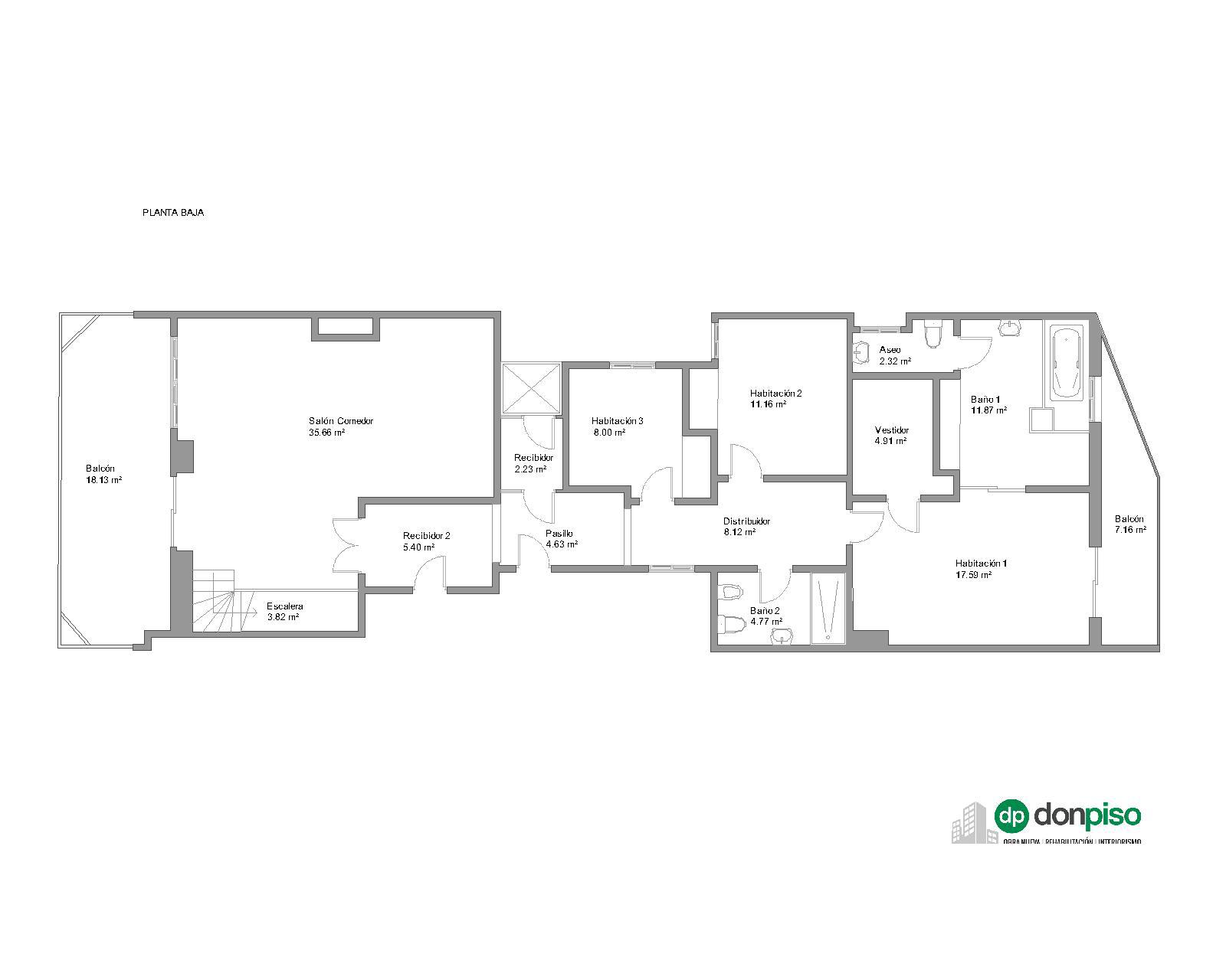 249314 Penthouse for sale in Sarrià-Sant Gervasi, Sant Gervasi-Galvany 34